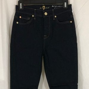 7 For All Mankind Size 25 High Waist Ankle Skinny